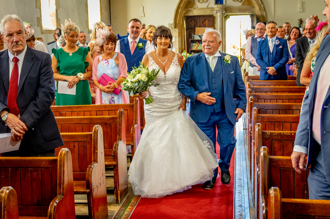 Photo of Dawn and Pauls wedding day
