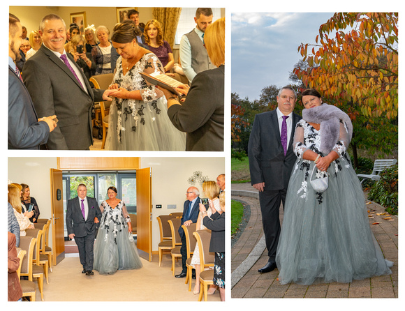 Photos of Hannah and Kelvin's wedding day.